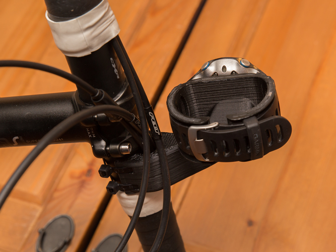 Sports watch bike mount 3D Print 81976