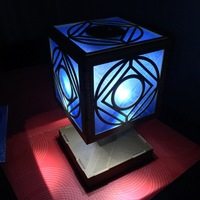 Small Holocron Lamp for the decerning Jedi 3D Printing 82103