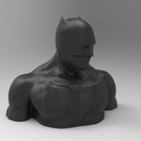 Small batman 1 topper or bust 3D Printing 82374