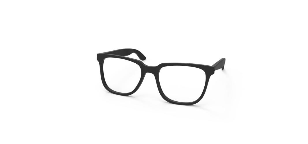 3d printed clark kent glasses frames by casualkoru pinshape