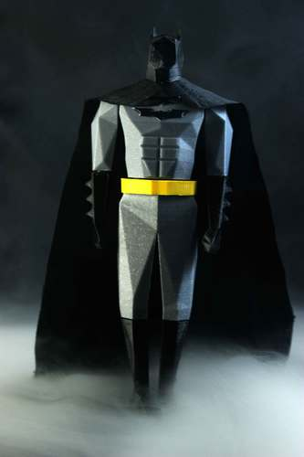 Batman Low Poly 3D Print 82490