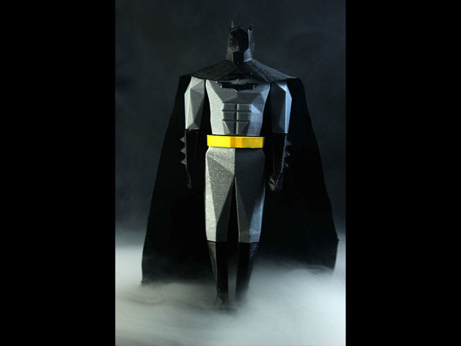 Batman Low Poly 3D Print 82507