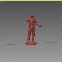 Small  Leon - Resident Evil 2 3D Printing 82509