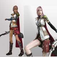 Small Lightning - Final Fantasy XIII 3D Printing 82516