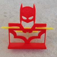 Small Batman Phone Stand 3D Printing 82529