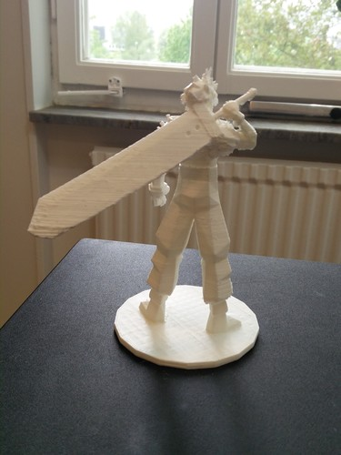 Cloud Strife - Final Fantasy VII 3D Print 82540