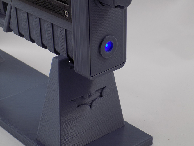 Batman Grapple Gun (functional toy gun) 3D Print 82607