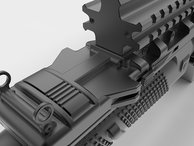 Batman's Grenade Launcher 1:1 scale (Batman vs Superman) 3D Print 82719