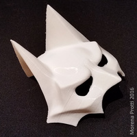 Small BatCat Mask 3D Printing 82753