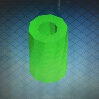 Small Twisted Cylinder 3D Printing 82859