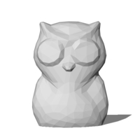 Small Low Poly Owl 3D Printing 82861