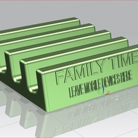 Small Family Time - Mobile Device Holder 3D Printing 82965