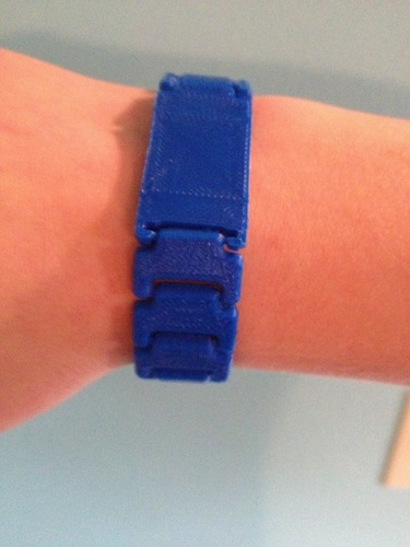 Print in Place Wristband 3D Print 82995