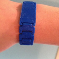 Small Print in Place Wristband 3D Printing 82995