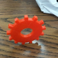 Small Sprocket 3D Printing 83021