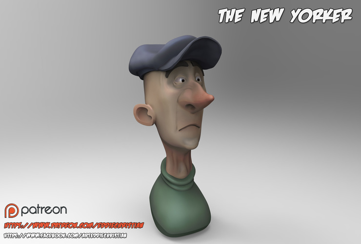The New Yorker 3D Print 83052