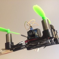 Small AG 3DFly 83mm XFRAME 3D Printing 83132
