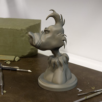 Small The Grinch 3D Printing 83178
