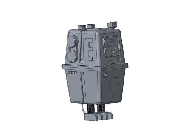 Medium Gonk Droid From Star Wars 3D Printing 83295