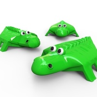 Small Crocodile 3D Printing 83331