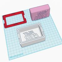 Small Fight Club Soap Mold and Bar 3D Printing 83422