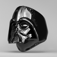 Small Ring - Darth Vader 3D Printing 83610