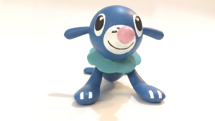 Popplio - Pokemon Sun & Moon Water Starter 3D Print 83692