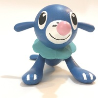 Small Popplio - Pokemon Sun & Moon Water Starter 3D Printing 83692