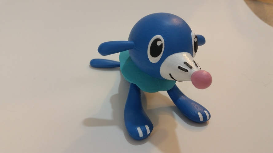 Popplio - Pokemon Sun & Moon Water Starter 3D Print 83693