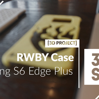 Small Samsung S6 Edge Plus - RWBY Case 3D Printing 83773