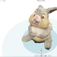 Small 3D Scanned Thumper  3D Printing 83869