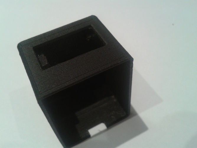3D Printed Enclosure for Photon with OLED 1306 display by