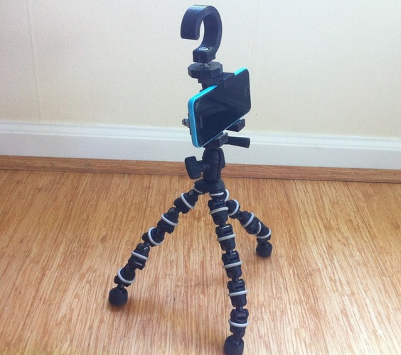 Universal Phone Mount for Bike, Car, and Tripod 3D Print 84195