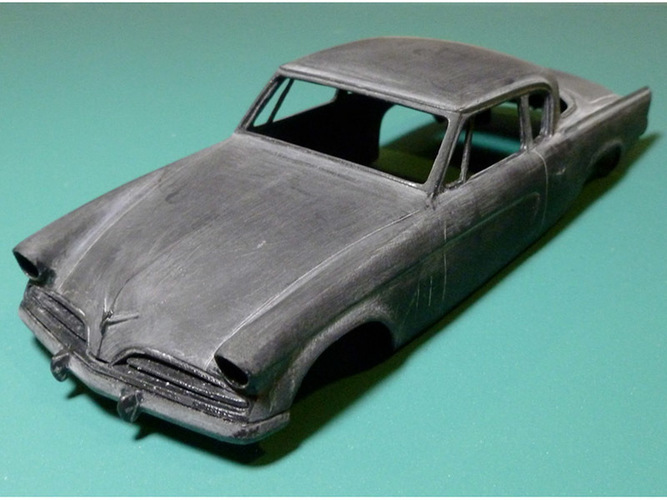 1953 Studebaker Commander 1:32 scale Slot Car 3D Print 84218