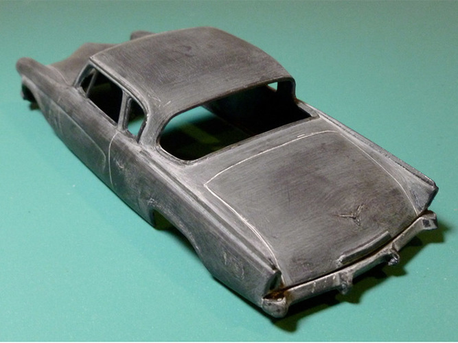 1953 Studebaker Commander 1:32 scale Slot Car 3D Print 84219