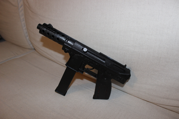 CS GO: Tec 9 (Functional Parts) 3D Print 84238