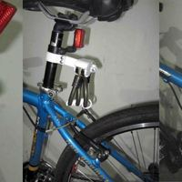 Small Bicycle Lock Holder 3D Printing 84243