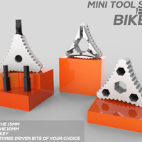 Small MINI TOOL SET FOR BIKE 3D Printing 84314