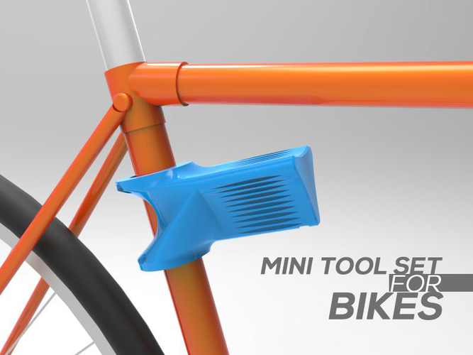 MINI TOOL SET FOR BIKE 3D Print 84315