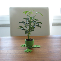 Small Small Plant Pot (short) 3D Printing 84527