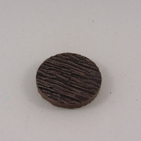 Small 25mm Wooden Plank Base for 25-30mm Miniature Games 3D Printing 846