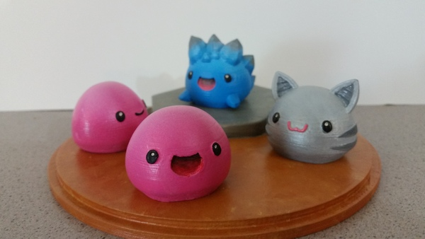 Medium Slime Rancher - Pink Slime, Tabby Slime and Rock Slime 3D Printing 85052