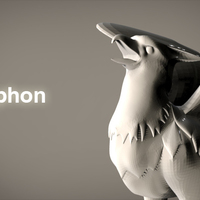 Small Gryphon 3D Printing 85226