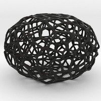 Small Voronoi Pearl Light Lamp No. 3 3D Printing 85437