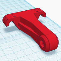 Small Saddle Mount for Rear Light 3D Printing 85480