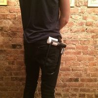 Small U-Lock Belt Holster 3D Printing 85507