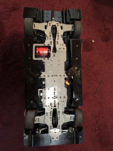 RS-LM Lemans RC Car Chassis 3D Print 85560