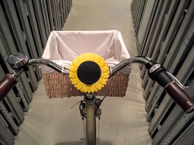 iPhone Bike Mount - Sunflower Style 3D Print 85746