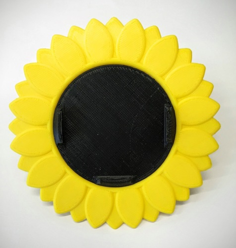 iPhone Bike Mount - Sunflower Style 3D Print 85749