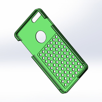 Small iPhone 6 plus case 3D Printing 85761